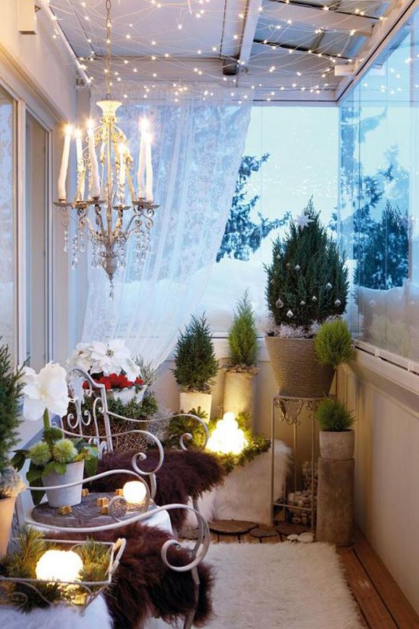 романтични идеи за балкона
