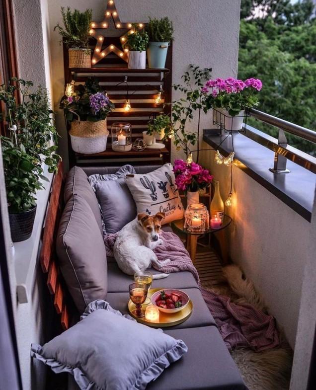 балкон романтика