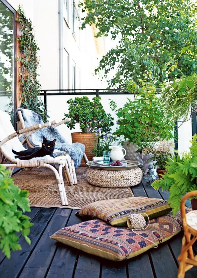 романтика на балкона
