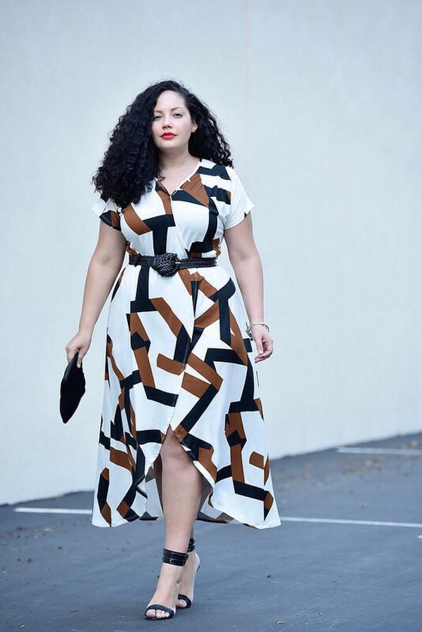 рокля за пишна дама
