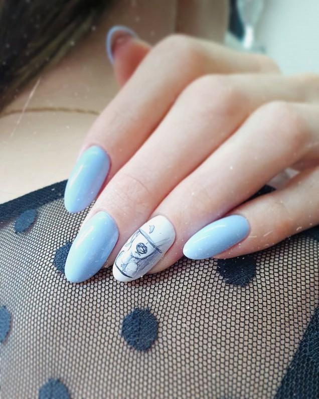модерен летен дизайн на ноктите през 2020