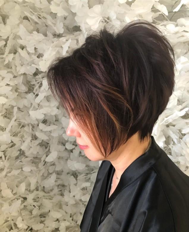 Обем на косата