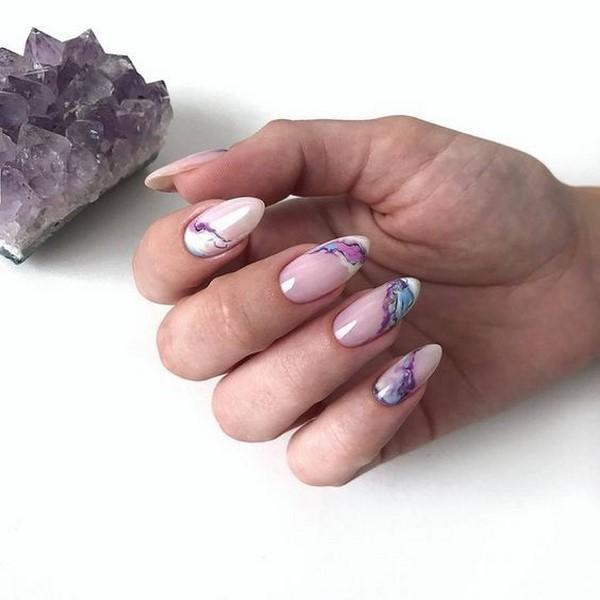 идея за дълги нокти