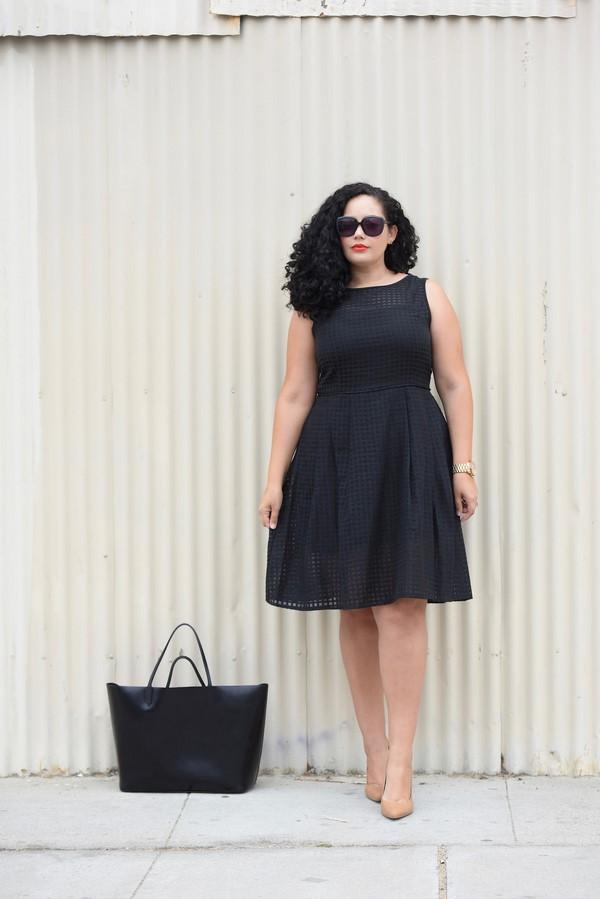 черна бизнес рокля