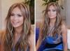 Идея назаем от звездите - как да освежим косата с кичури, без да изглежда грозно или фрапантно (Снимки):