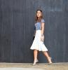 бяла ефирна пола
