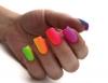 шарен маникюр няколко цвята