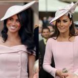 Меган и Кейт в розово