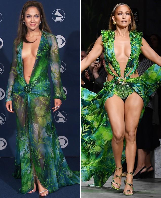 Дженифър Лопес секси рокля