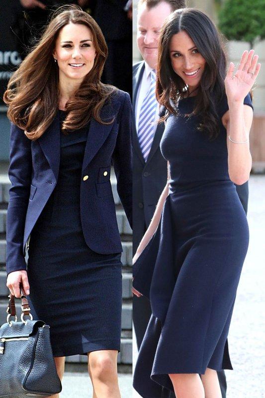 Кейт и Меган еднакви рокли