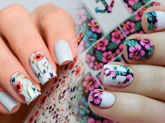 цветни маникюри