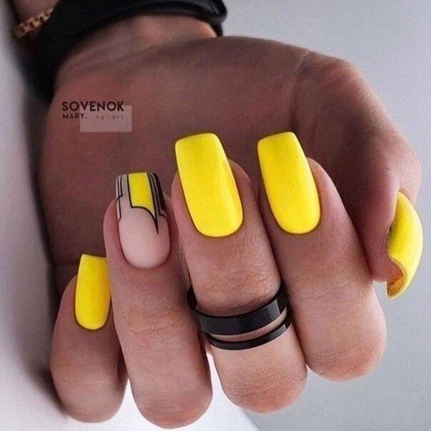 матов жълт