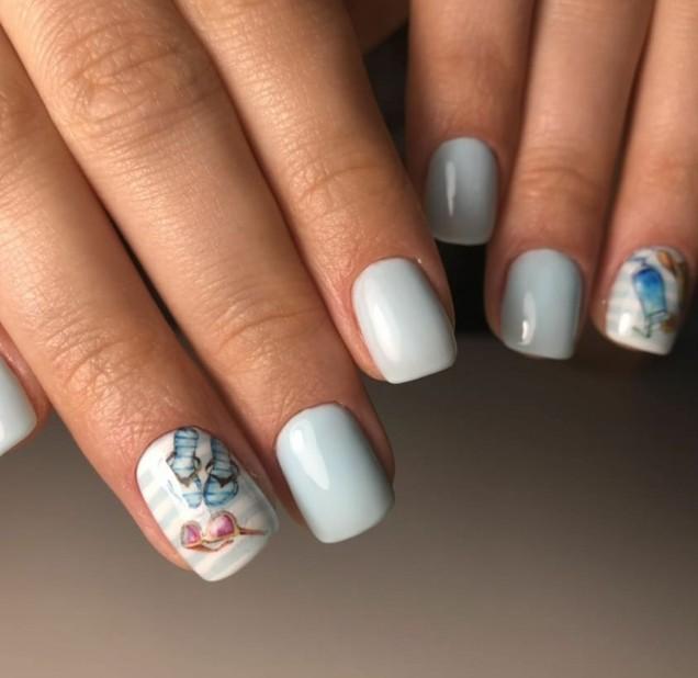 Идеи за маникюр на къси нокти