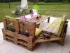 градинска мебел от палети