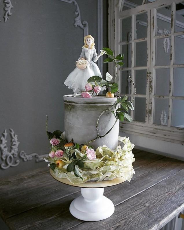 фантастично красива торта