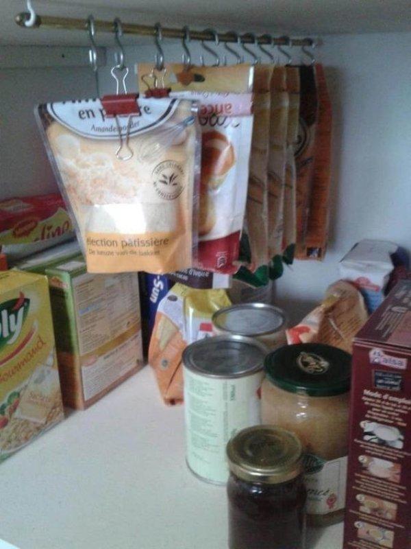 съхранение в шкафовете