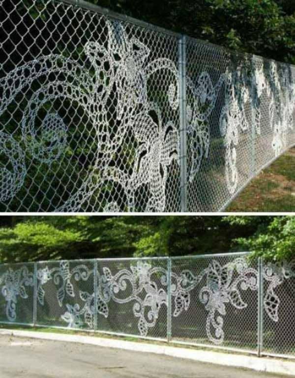 дантелена ограда