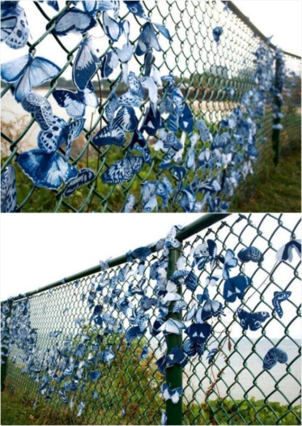 ограда с пеперуди