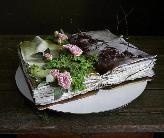 нереално красива торта
