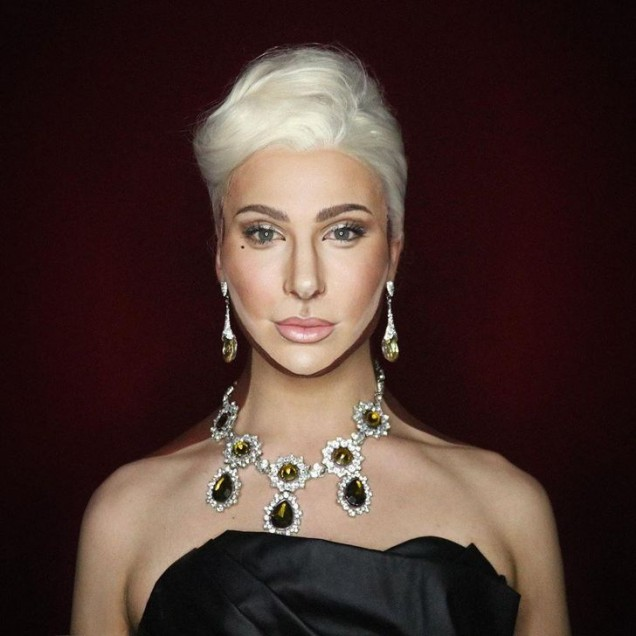Алексис Стоун като Лейди Гага