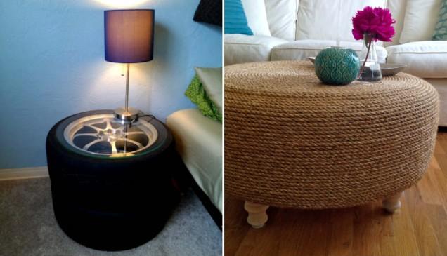 светеща маса от гуми