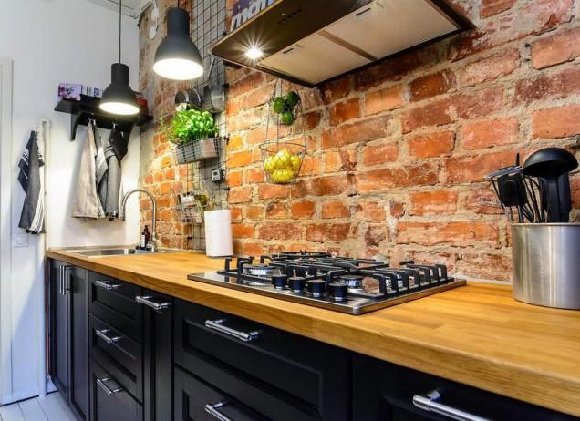 гръб на кухня рустик