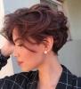 Къси прически за чуплива коса