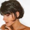 Късо каре с бретон 2020-популярни идеи