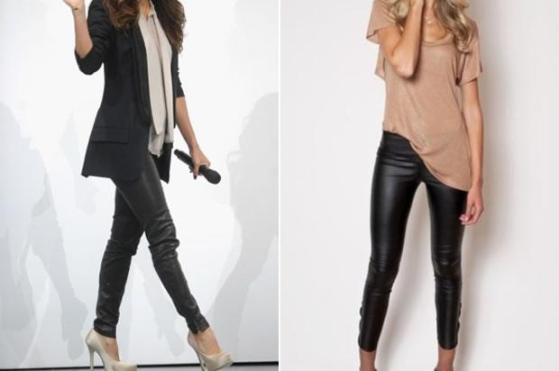 Водеща тенденция тази зима са кожените панталони