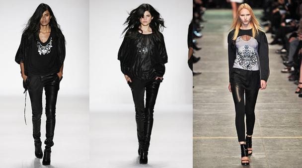 Кожените панталони - Водеща тенденция тази зима