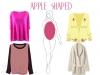Пуловери за фигура като ябълка