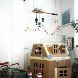 детска къщичка от картон