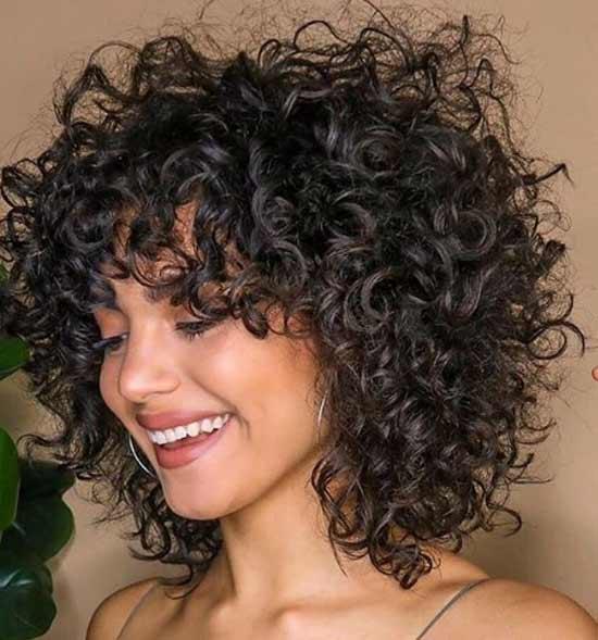 прическа къдрава коса лесен стайлинг
