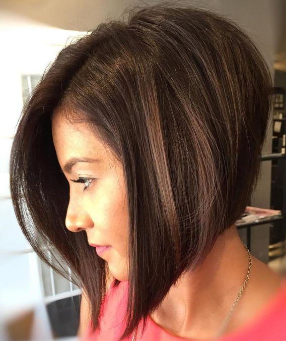 удължен боб гъста коса