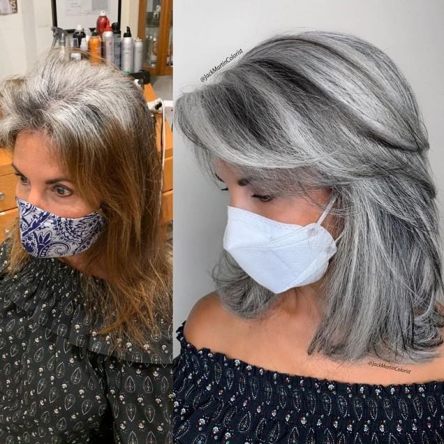 как да боядисам косата си