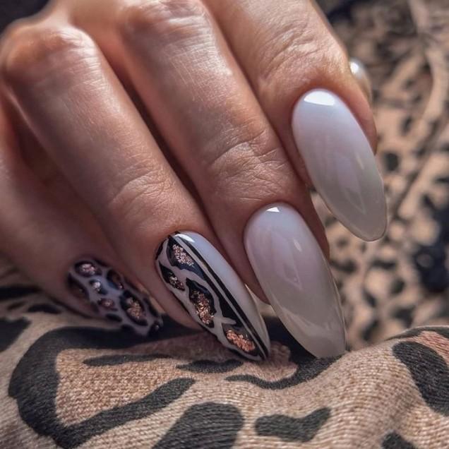 изящен леопардов маникюр