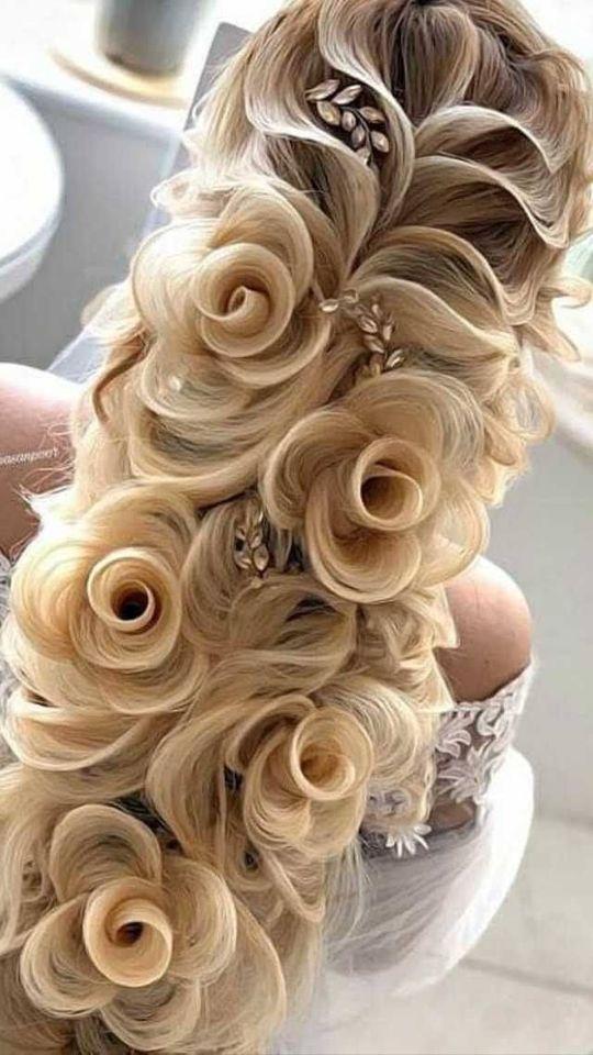 идея за розички в косата