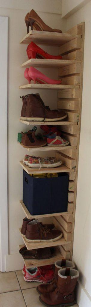 идеи за съхранение на обувки