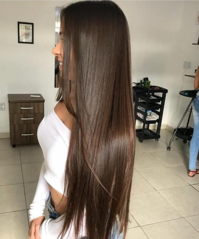 много дълга коса