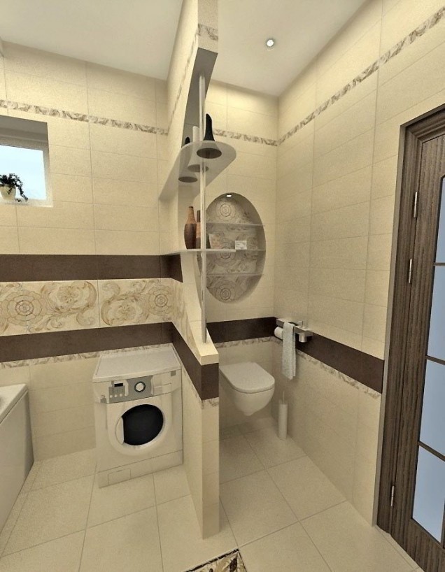 душ кабина в малката баня