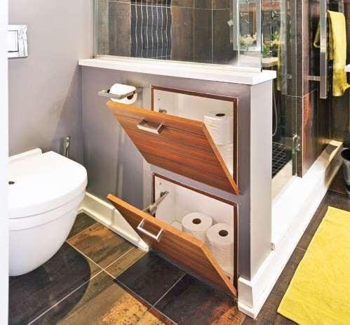 идея съхранение в банята