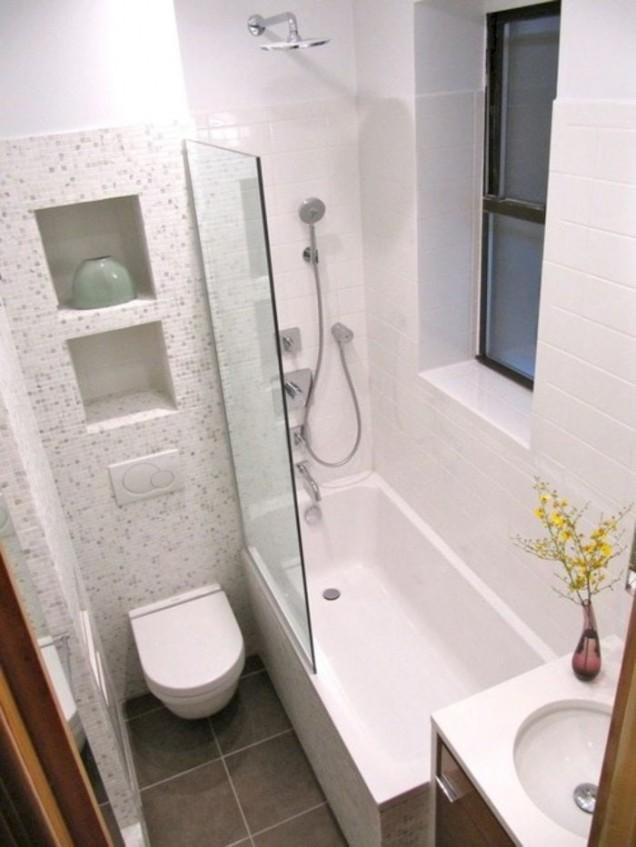 място в малката баня