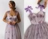 люлякова рокля с корсет
