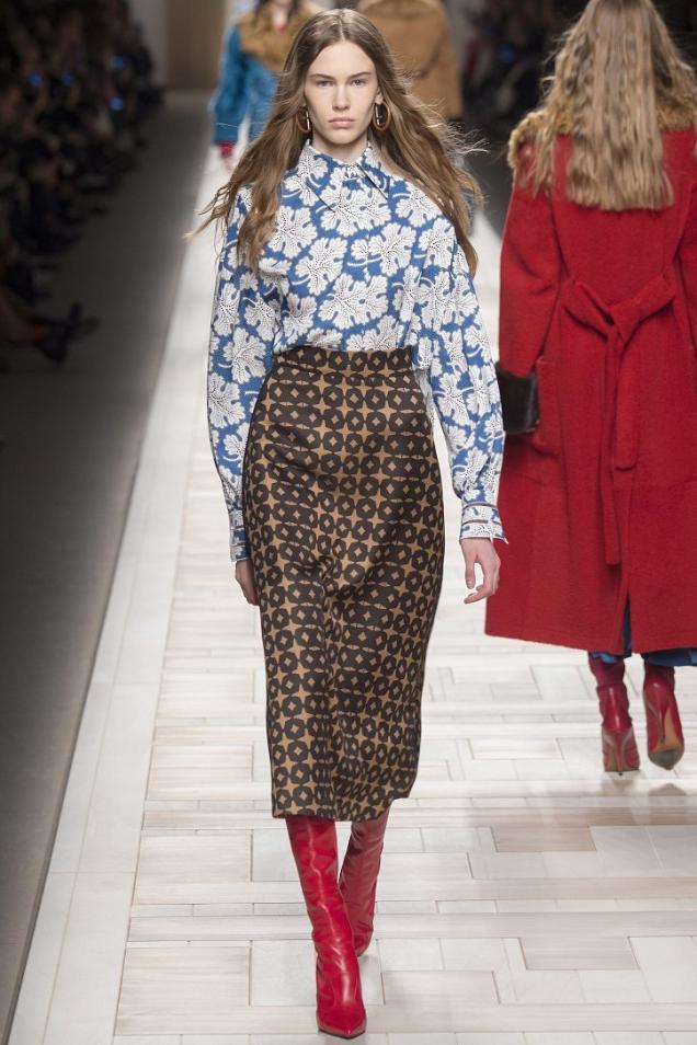 модерна зимна пола
