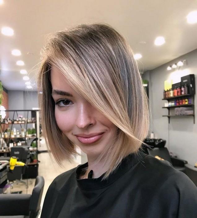 Модни прически за къса коса
