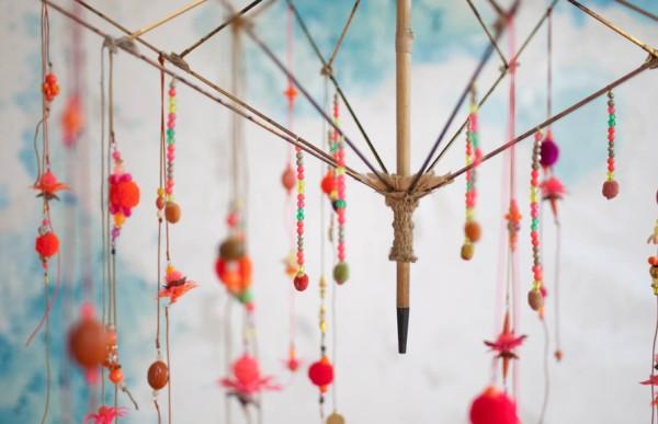 украса от чадър