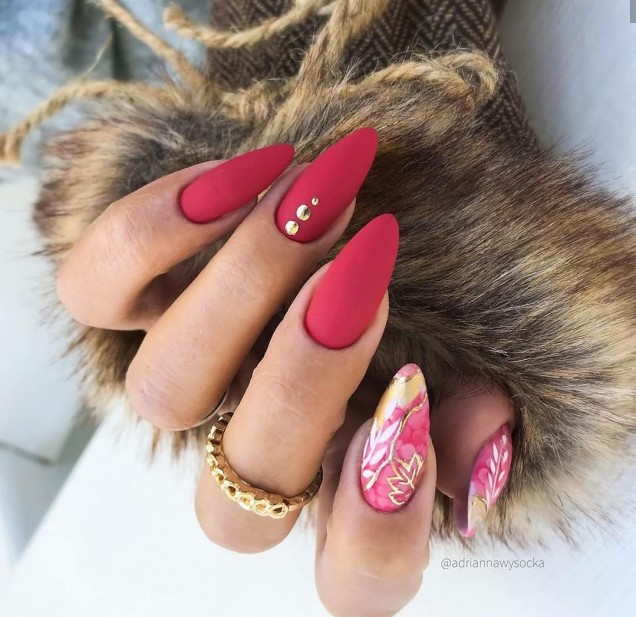 дизайн дълги нокти