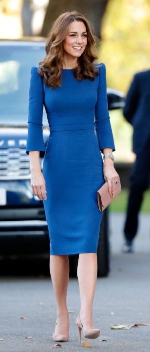 Кейт Мидълтън есенна рокля