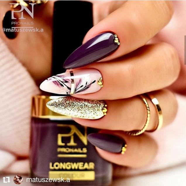 дълги нокти великолепен дизайн
