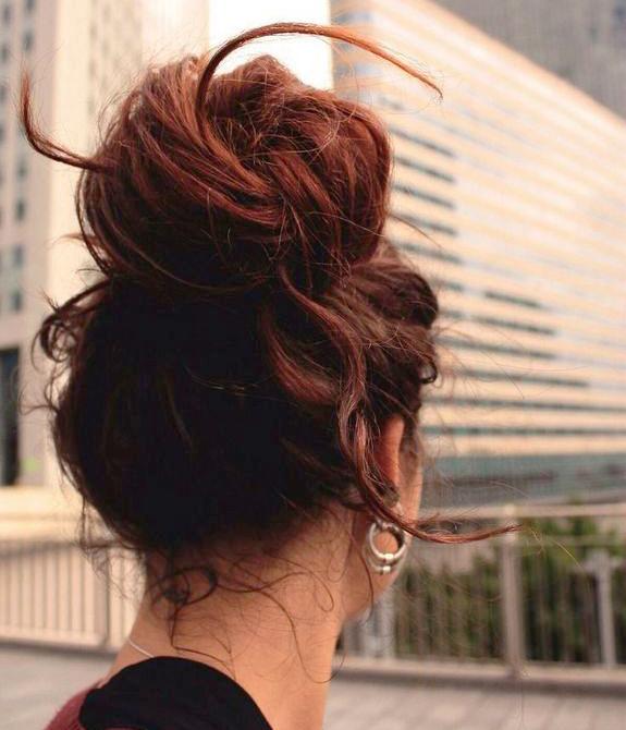 кок за мръсна коса
